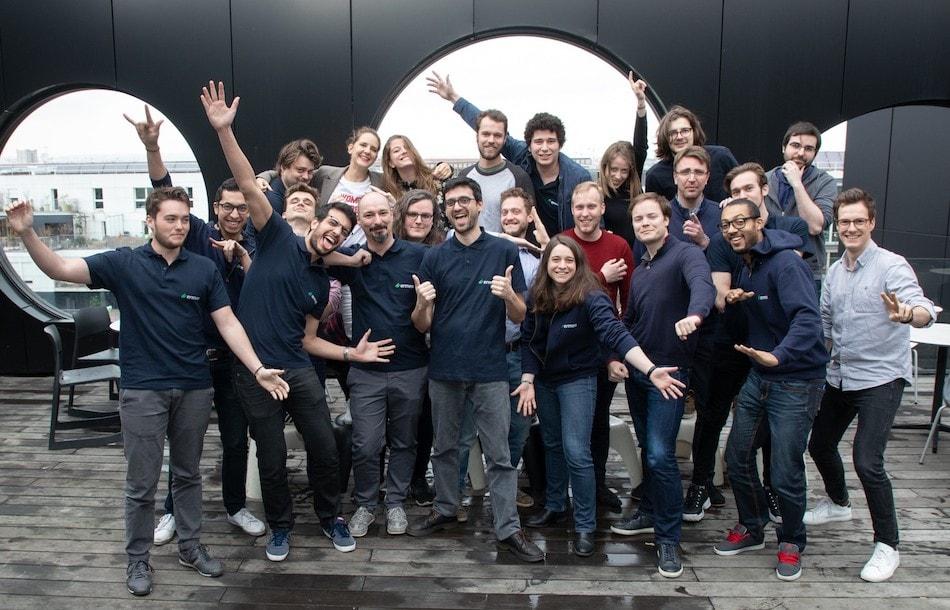 Equipe Ermeo au Cargo : plus grande plateforme d'innovation d'Europe