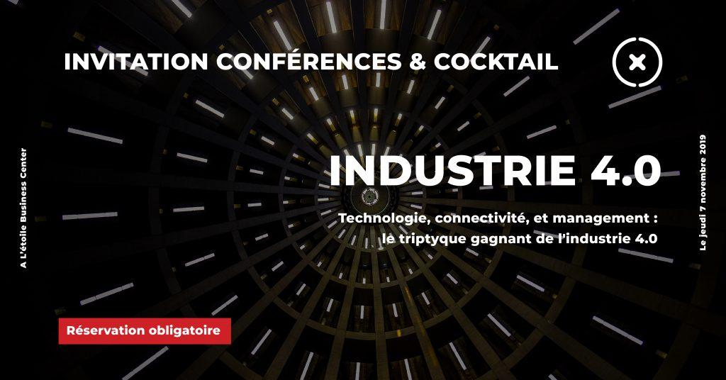 Inscription soirée Industrie 4.0